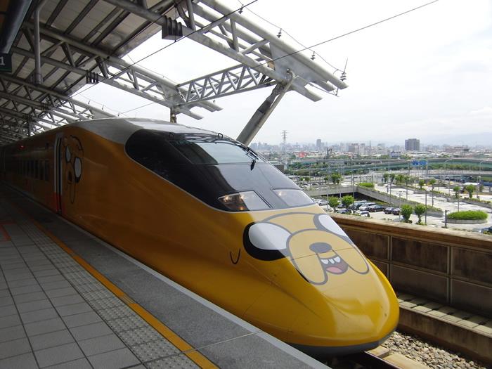 Desenhos da Cartoon Network invadem os trens de Taiwan