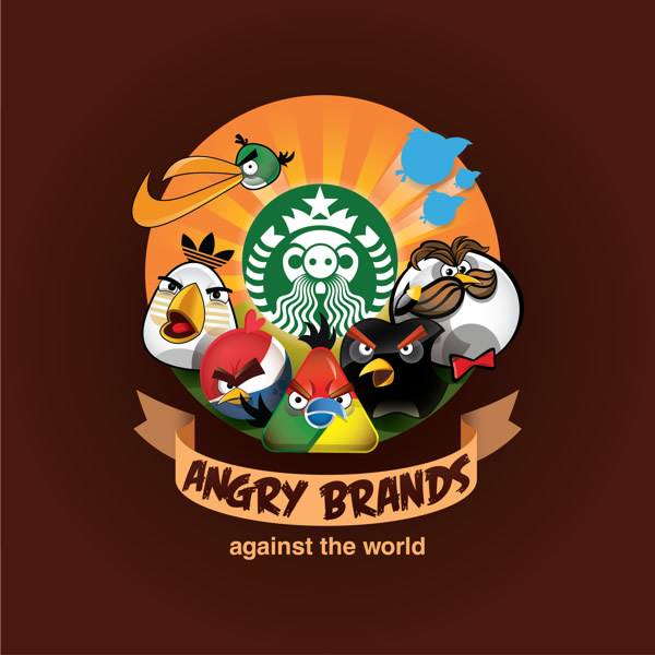Angry Brands: E se as marcas fossem Angry Birds?