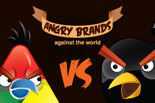 Angry Brands: E se as marcas fossem Angry Birds?