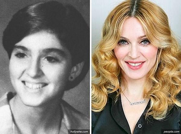 Imagens comparam fotos mais recentes de 20 celebridades com suas fotos no anuário escolar