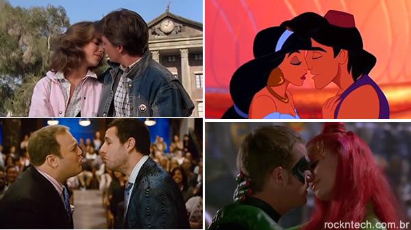 Foi por pouco! Vídeo mostra cenas de beijos interrompidos em filmes famosos