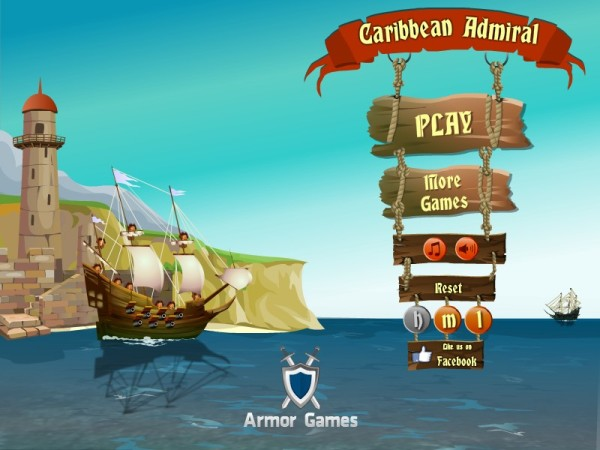GAMEFUN - Caribbean Admiral