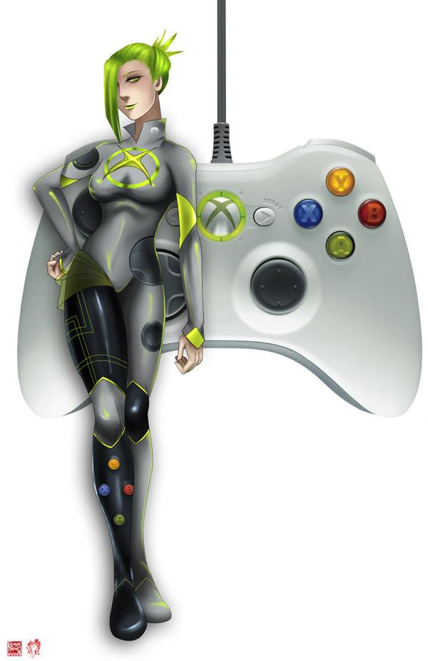 Video Game Girls Series: Personagens inspiradas em controles de videogame