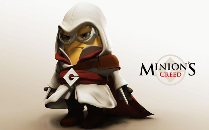 Minions Super Mario, Minions Assassin's Creed: Veja 48 paródias super legais com os personagens!