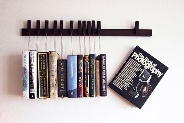 15 prateleiras de livros super criativas