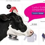 Deu BUG? NÃO! É a curiosa página interativa em HTML5 da MuccaShop! :o