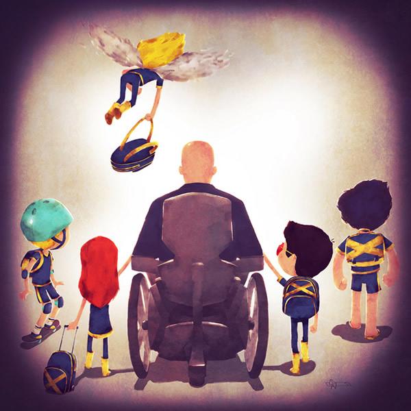 Com vocês Super Families 2, heróis e vilões da Marvel levam seus mini-heroizinhos para a escola!