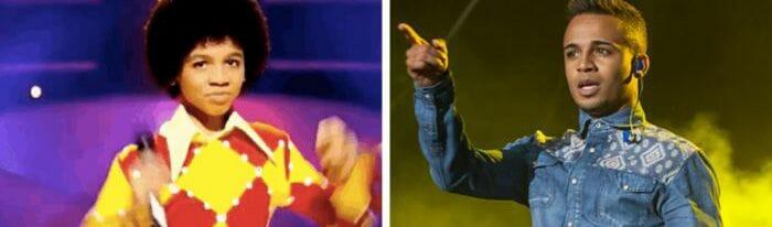 Antes e depois de 27 astros da música