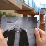 """7 Imagens de lugares reais onde foi gravado Breaking Bad """"cobertos"""" por fotos de cenas da série"""