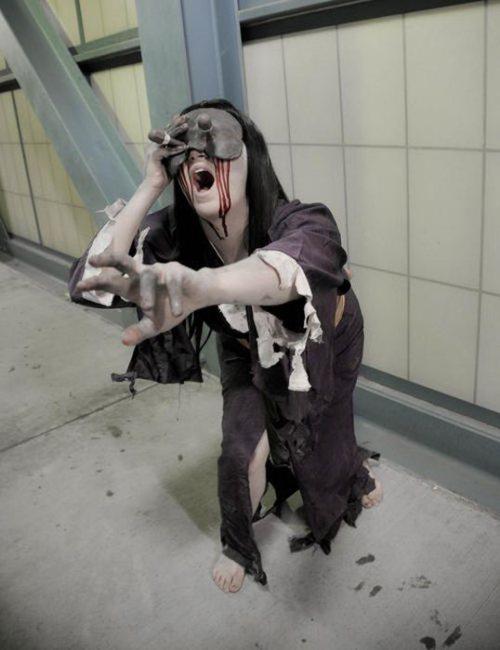 34 Versões de Cosplays assustadores e zumbísticos