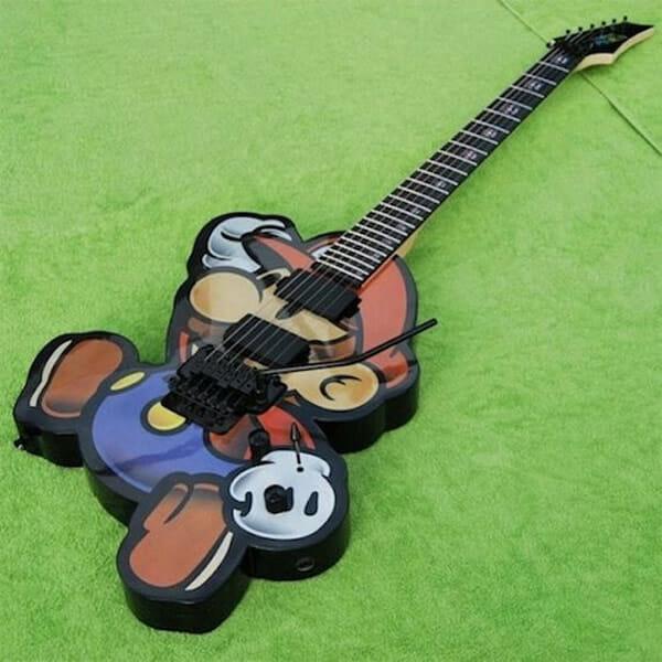 14 Guitarras bacanas personalizadas com temas geeks e da cultura pop