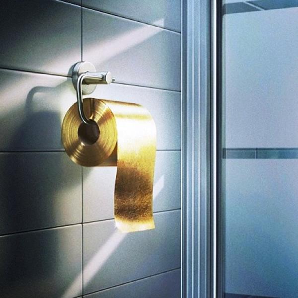 rolo-papel-higiênico-dourado