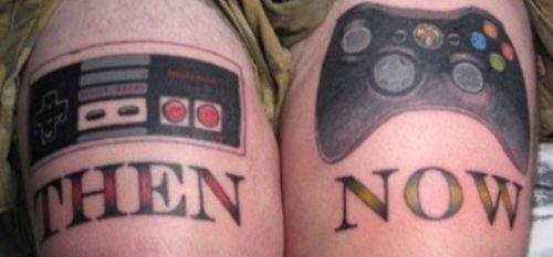 18 Tatuagens baseadas em temas nerds