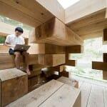 Japonês constrói casa baseada no jogo Jenga