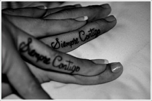 23 Tatuagens superlegais que se completam feitas por casais