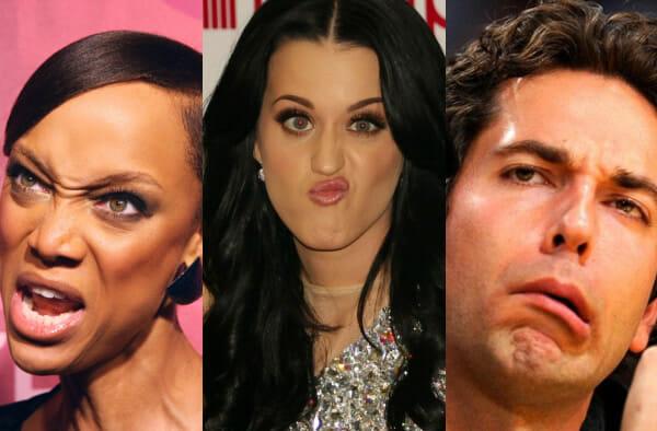 30 Celebridades fazendo caras engraçadas