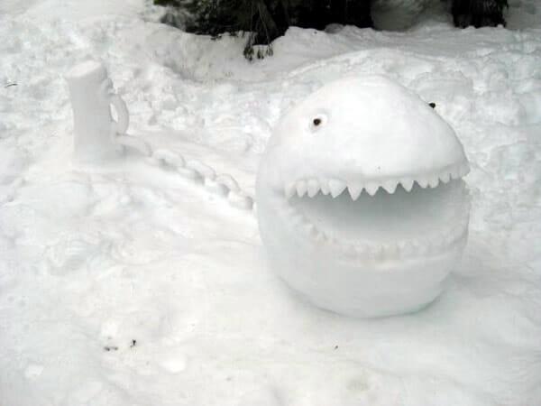 12 Esculturas de neve que vão congelar seus olhos!