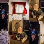 Pais criativos recriam cenas de filmes famosos estreladas por seu filho bebê