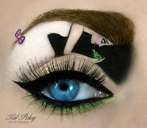 Arte nos olhos: As fantásticas maquiagens de Tal Peleg