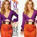 3 Gifs mostram as photoshopadas feitas na atriz Jennifer Lawrence para a capa da Flare Magazine