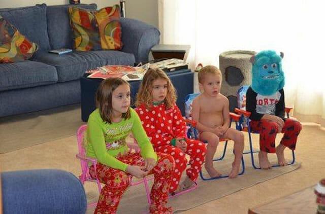 25 Imagens que provam que crianças são estranhas