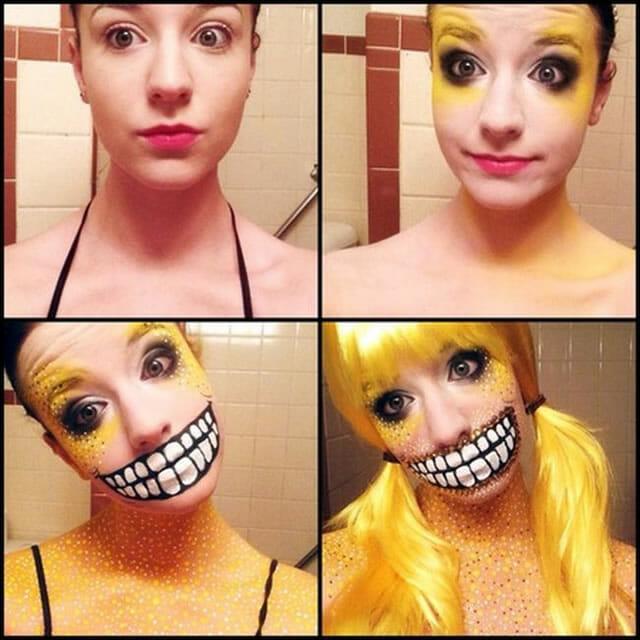 8 Maquiagens realistas fantásticas feitas por Stephanie Fernandez