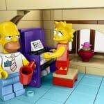 Vaza na internet imagem não autorizada do set oficial de LEGO de Os Simpsons (Atualizado)