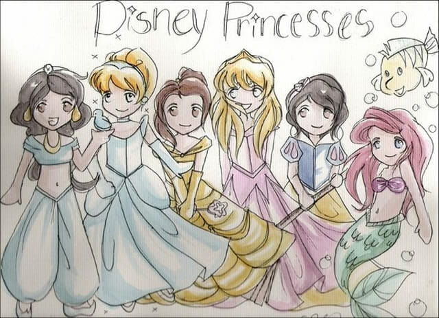 30 Versões inusitadas e superlegais das Princesas da Disney