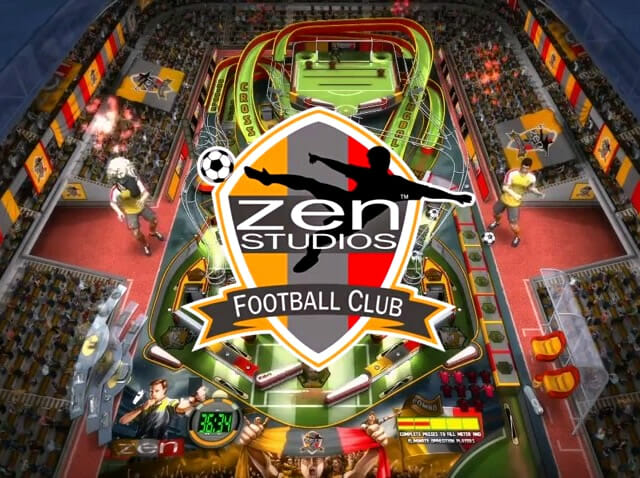 Super league football pinball