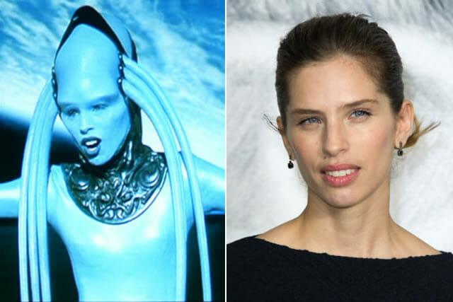 O Quinto Elemento - Antes e depois dos atores que participaram do filme