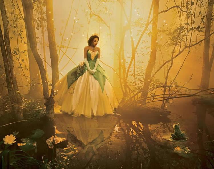 17 Fotos incríveis de celebridades transformadas em personagens da Disney