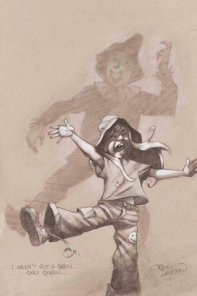 14 Ilustrações criativas mostram crianças fingindo ser personagens da ficção
