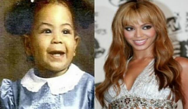22 Fotos de celebridades quando eram bebês