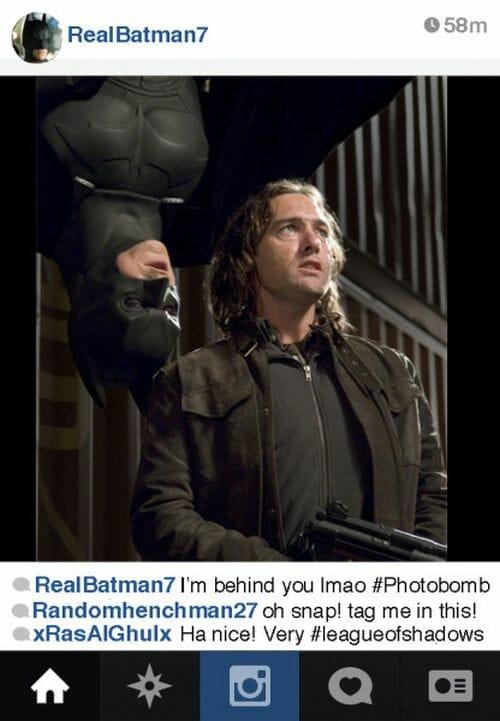 E se o Batman tivesse um Instagram?