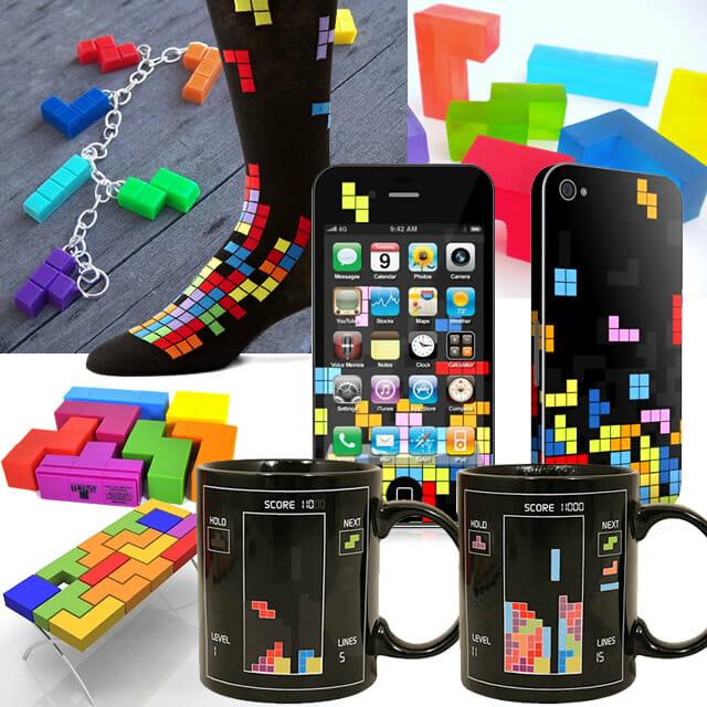 geek produtos inspirados no game tetris