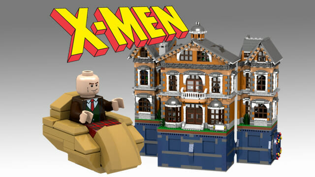 lego x-men marvel wolverine storm danger room