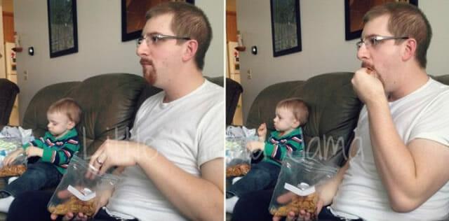 Tal pai tal filho parte II: 28 fotos legais de filhos que são a cara de seus pais!