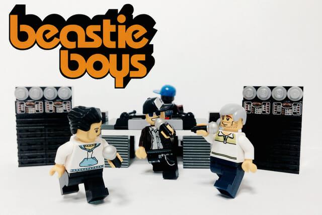 20 Bandas famosas representadas por minifigures de Lego