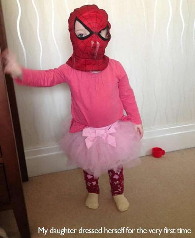 Mais 16 imagens que provam que crianças são estranhas