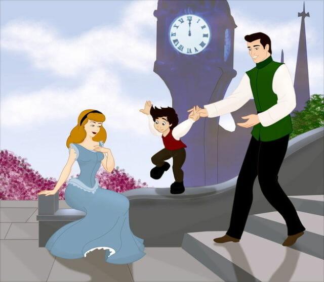 """12 Famílias da Disney que se formaram depois do """"e viveram felizes para sempre"""""""
