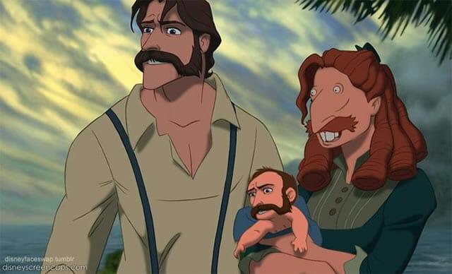 E se os personagens da Disney trocassem de rosto? Veja 20 trocas engraçadas: