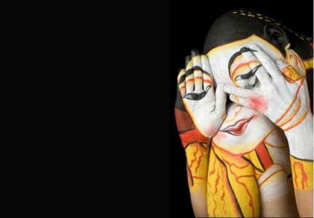 25 Pinturas corporais tão sensacionais que vão confundir seus olhos