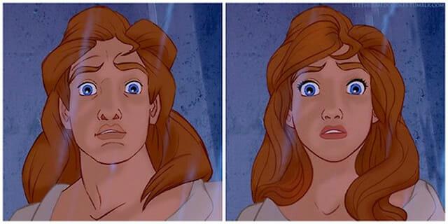 8 Príncipes da Disney transformados em princesas