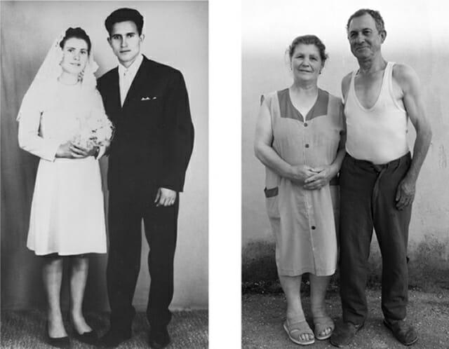 Identidades - Projeto recria fotos antigas com as mesmas pessoas mais velhas
