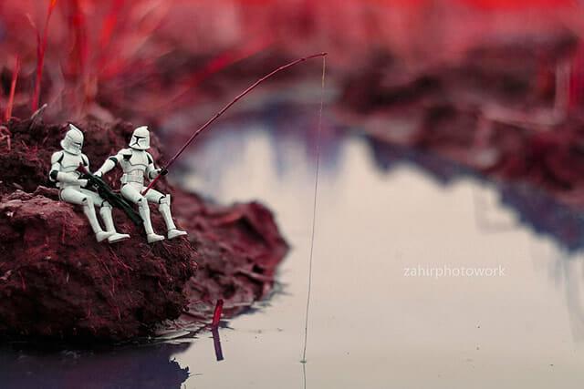 12 Fotos revelam as fantásticas aventuras dos action figures de Star Wars