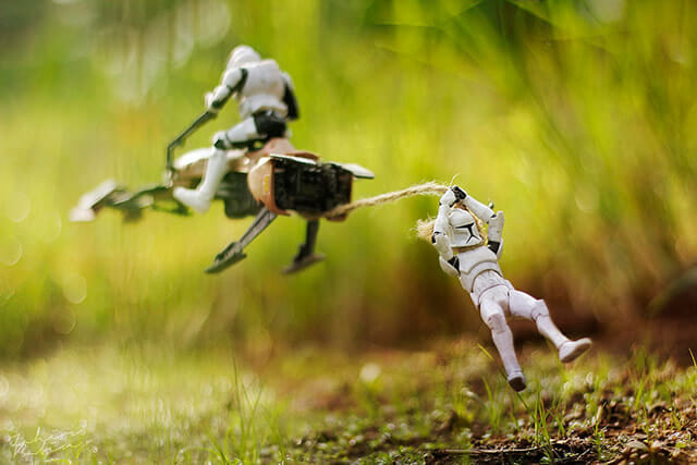 12 Fotos revelam as fantásticas aventuras dos action figures de Star Wars