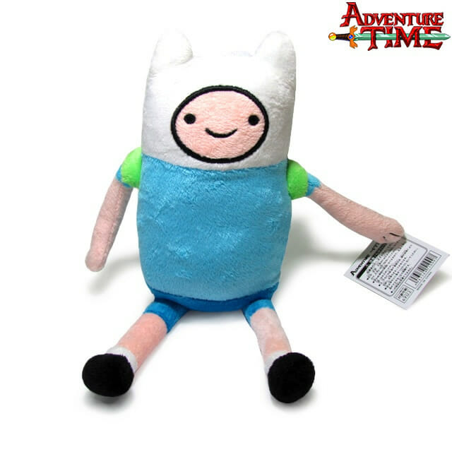 Que horas são? É hora de agarrar as pelúcias do Finn e do Jake do Hora de Aventura!