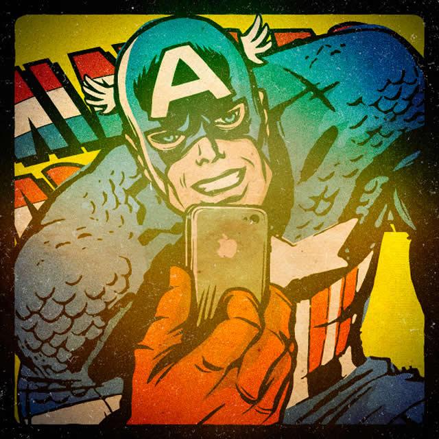 Os Super-Heróis também fazem selfie! Veja 7 deles: