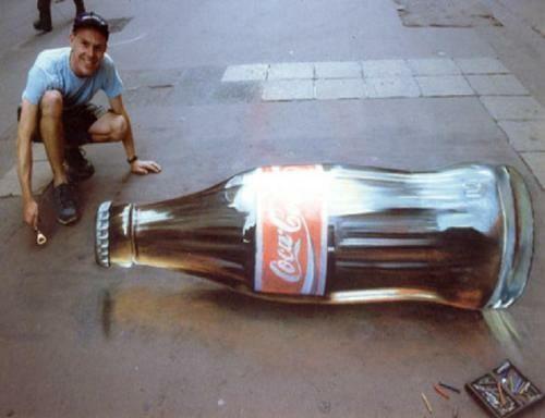 24 Street Art tão sensacionais que vão confundir seus olhos