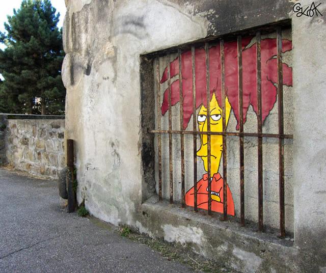 15 Street art super criativos criados com elementos e objetos das ruas